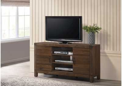 Image for Belmont Black/Brown Tv Stand