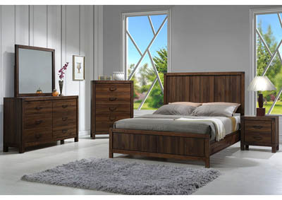 Image for Belmont Rustic Queen Panel Bed