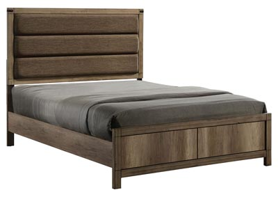 Matteo Upholstered/Panel Queen Bed,Crown Mark