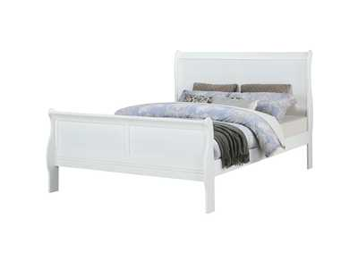 Image for Louis Phillipe White Twin Bed