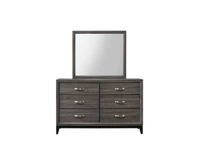 Akerson Gray Dresser,Crown Mark