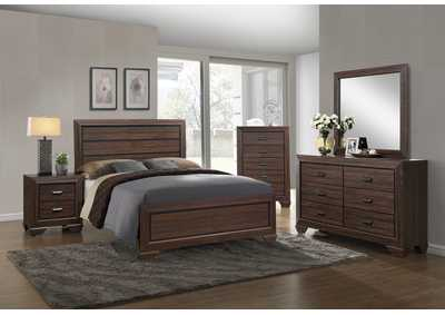 Image for Farrow Chocolate Twin Panel Bed