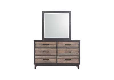 Tacoma 2 Tone Dresser & Mirror,Crown Mark