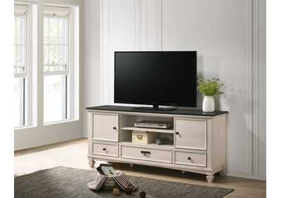 Image for Sawyer White Tv Stand
