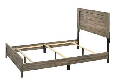 Image for Millie Light Cherry Queen Bed In One Box