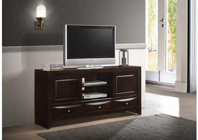 Image for Emily Tv Stand Dark Cherry