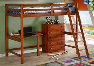Image for Tall Student Loft Corner Desk Top