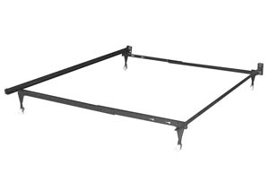 Image for Twin/Full Metal Bed Frame