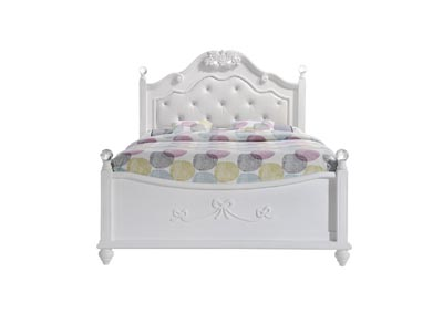 Image for White Alana Full Platform Bed