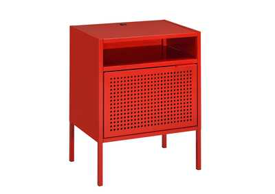 Image for Ember  Red Nightstand