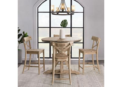 Image for Callista    Beach Counter Height Table w/4 Chair