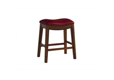 "Image for Fiesta 24"" Backless Counter Height Stool in Red"