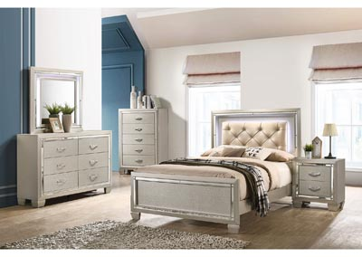 Image for Platinum Youth Yellow Full Trundle Bed w/Dresser&Mirrors