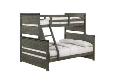 Image for Wade Gray Twin over Full Bunk Bed