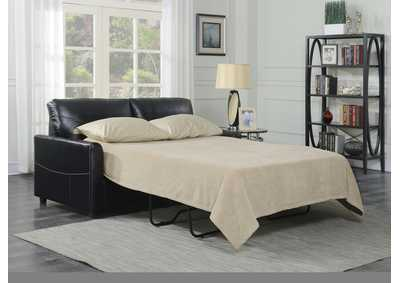Image for Slumber Black Full Sleeper Sofa
