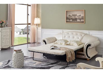 Image for Apolo Beige & White Sofa Bed