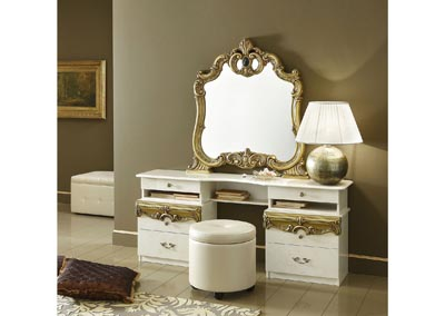 Image for Barocco Ivory & Gold Vanity Set