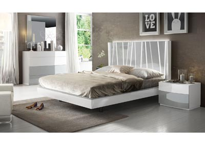 Image for Ronda Dali White & Grey Queen Bedroom Set