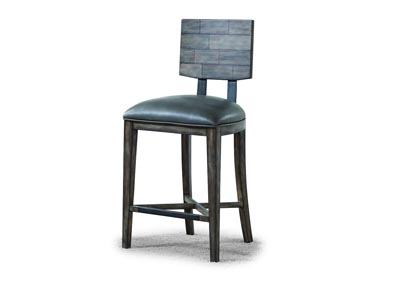 Image for Fulton Dark Grey Counter Chair [Set of 2]