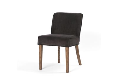 Image for Bella Smoke + Aged Oak Ashford Aria Dining Chair