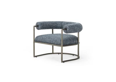 Image for Lyon Navy + Brushed Slate Grayson Bettie Chair