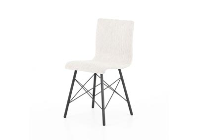 Image for Avant Natural + Waxed Black (pc) Irondale Diaw Dining Chair-Avant Natural