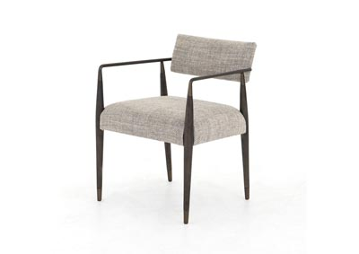Image for Thames Coal + Aged Bronze + Sierra Brown Beacon Waldon Dining Chair-Thames Coal