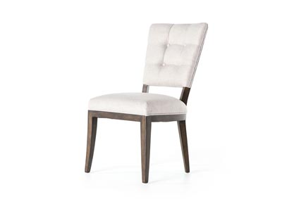 Image for Axis Stone + Burnt Birch Abbott Sabrina Dining Chair-Axis Stone