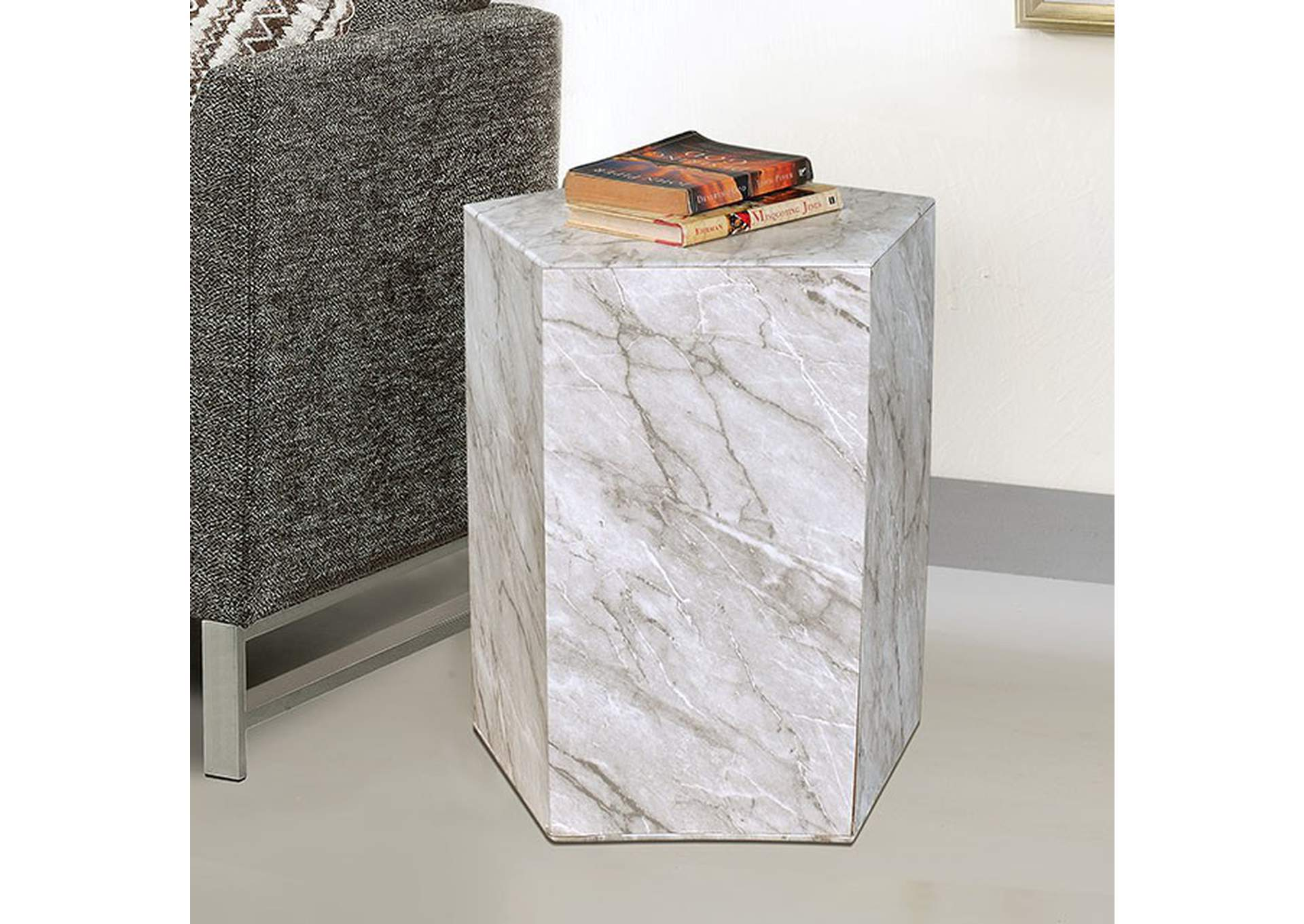 Anuja Side Table,Furniture of America