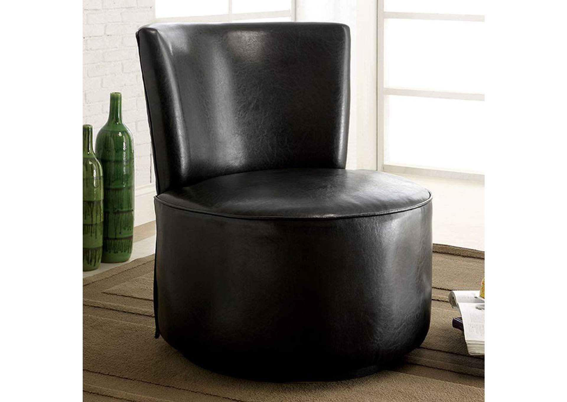 Bay Shore Accent Chair,Furniture of America