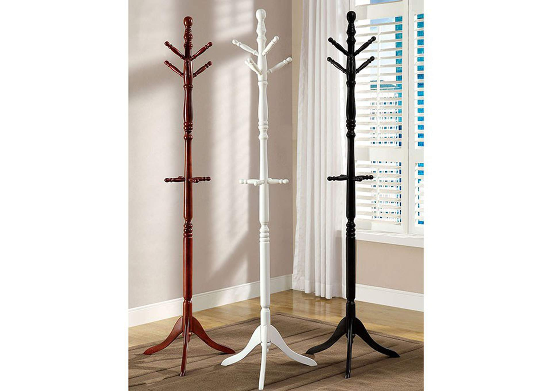 Putnam Cherry Coat Rack,Furniture of America