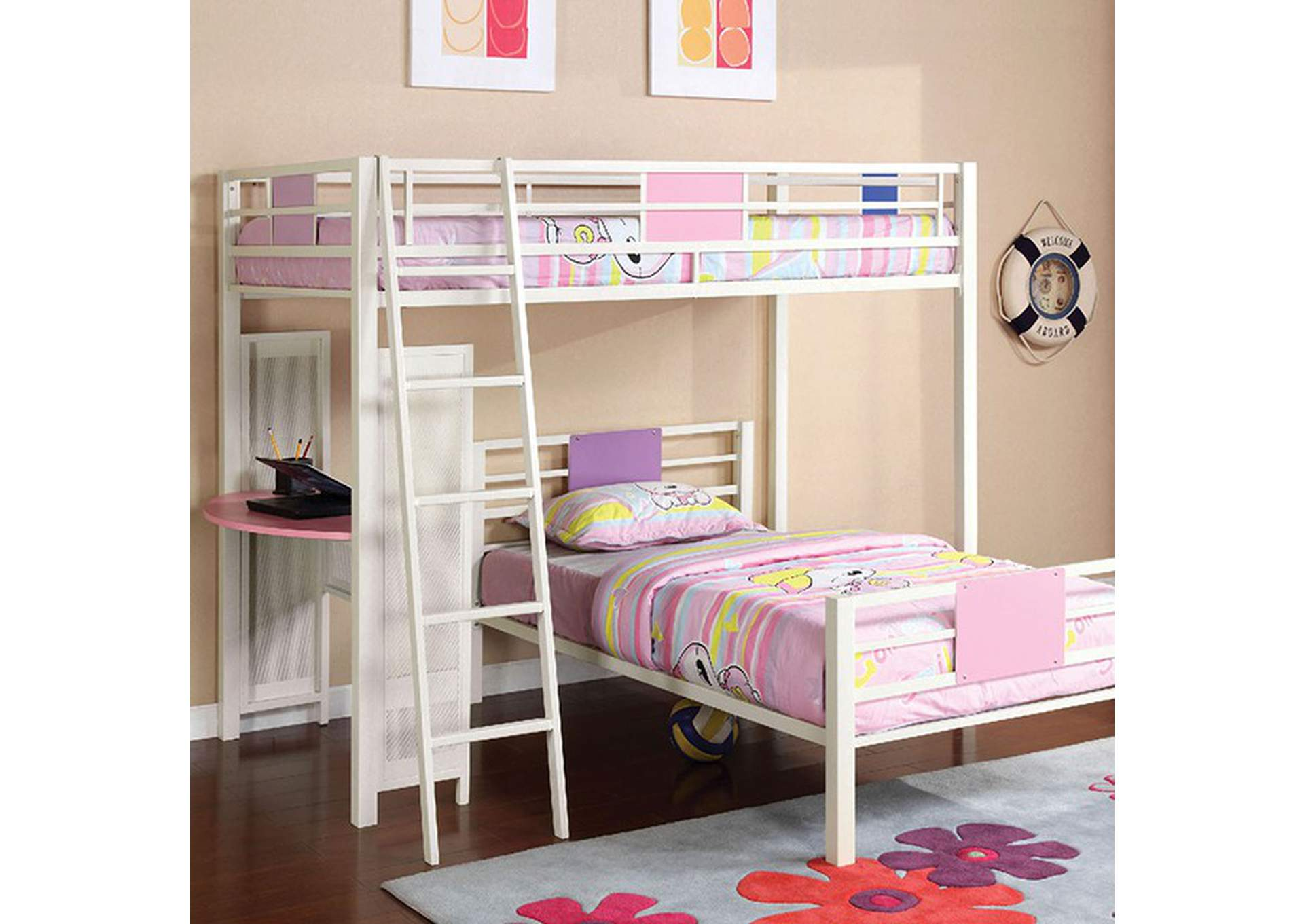 Summerville Metal Bunk Bed,Furniture of America