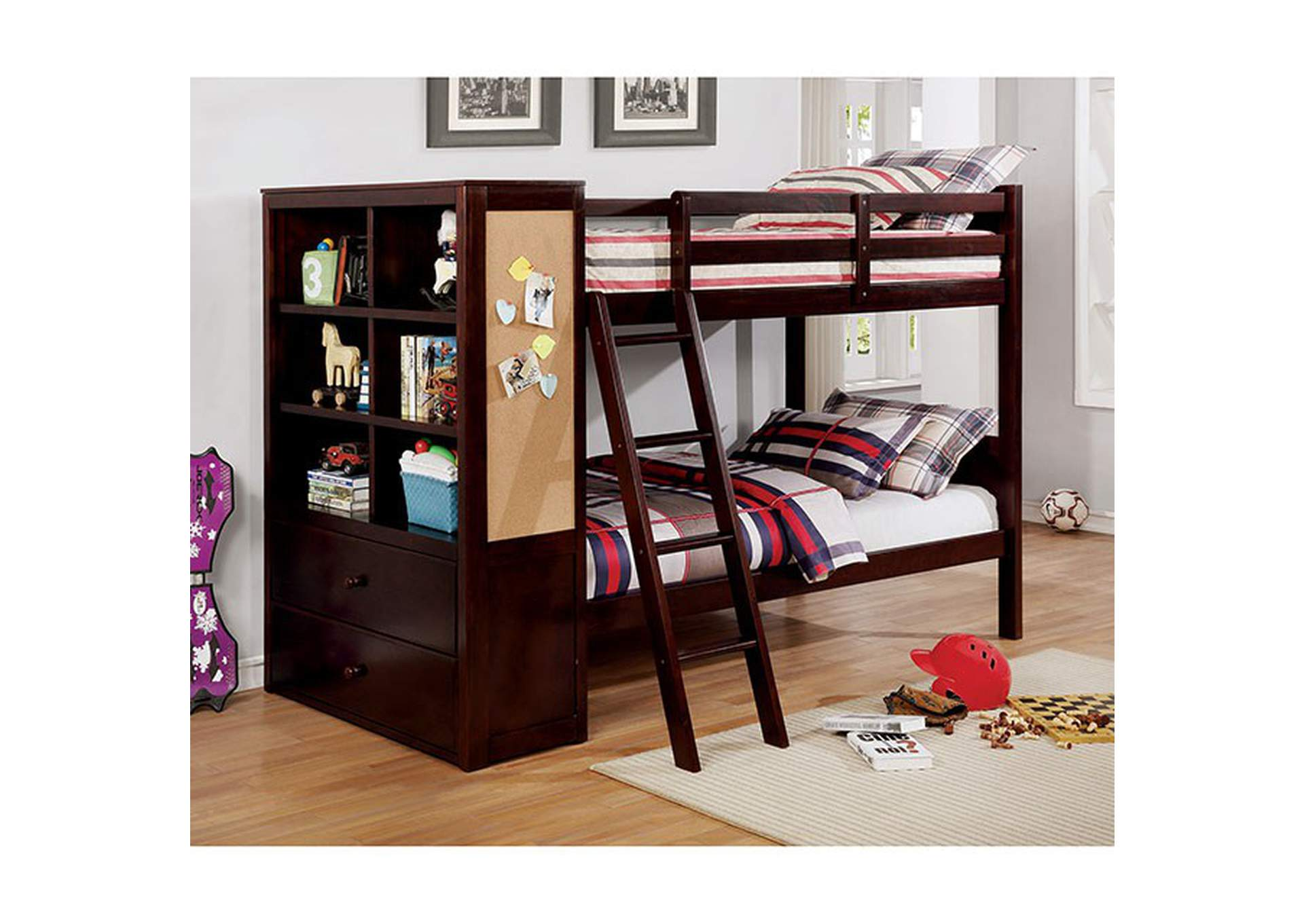 Athena Twin/Twin Bunk Bed,Furniture of America