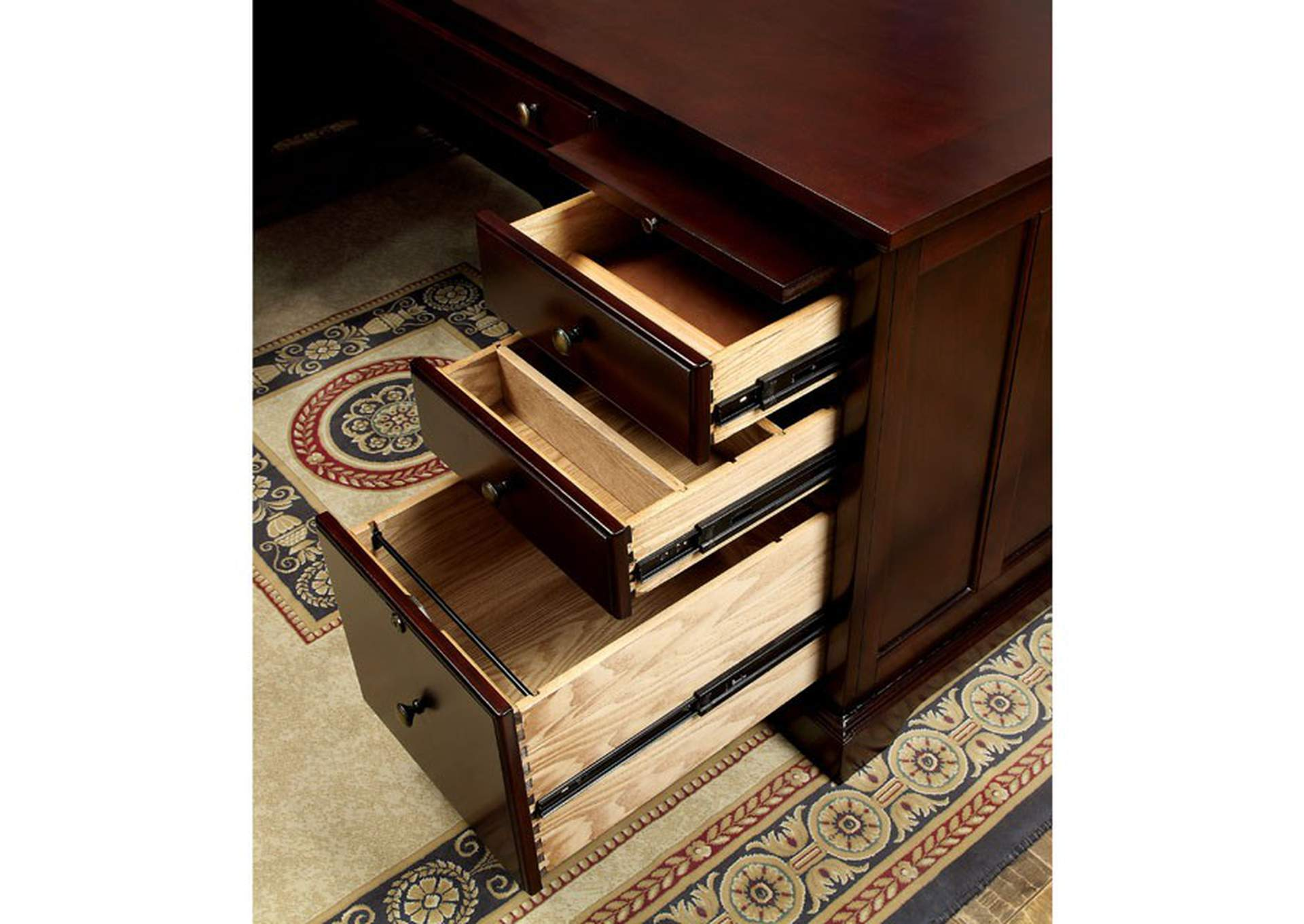 Desmont Corner Desk,Furniture of America