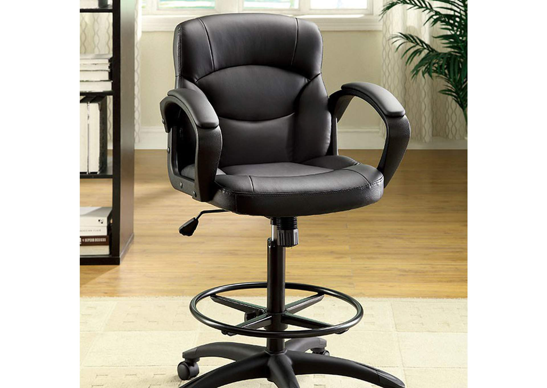 Belleville Black Office Chair,Furniture of America