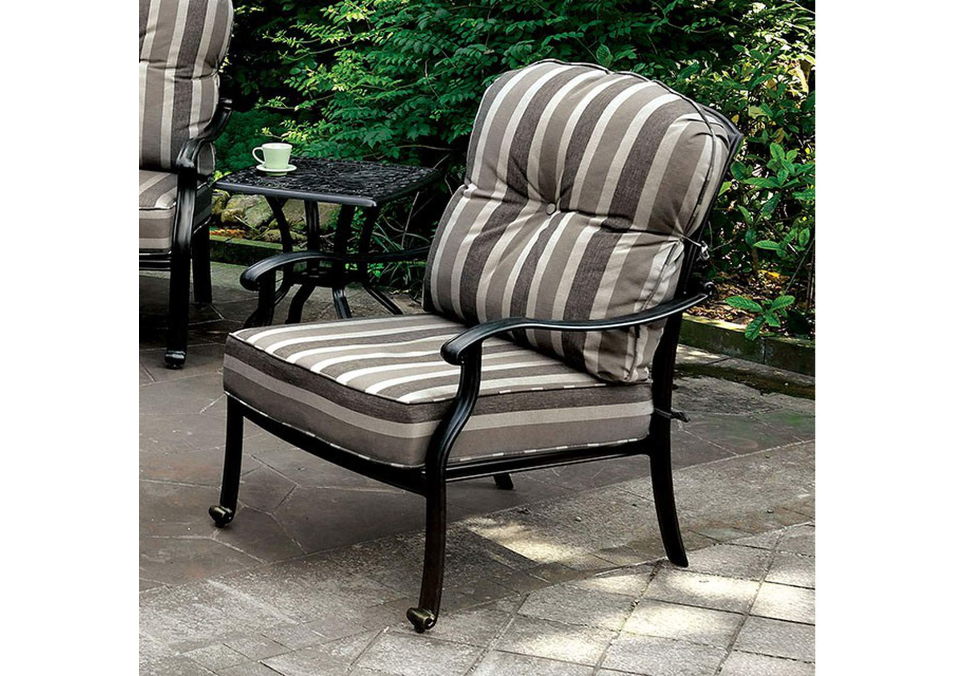 Fernanda Arm Chair [Set of 2],Furniture of America