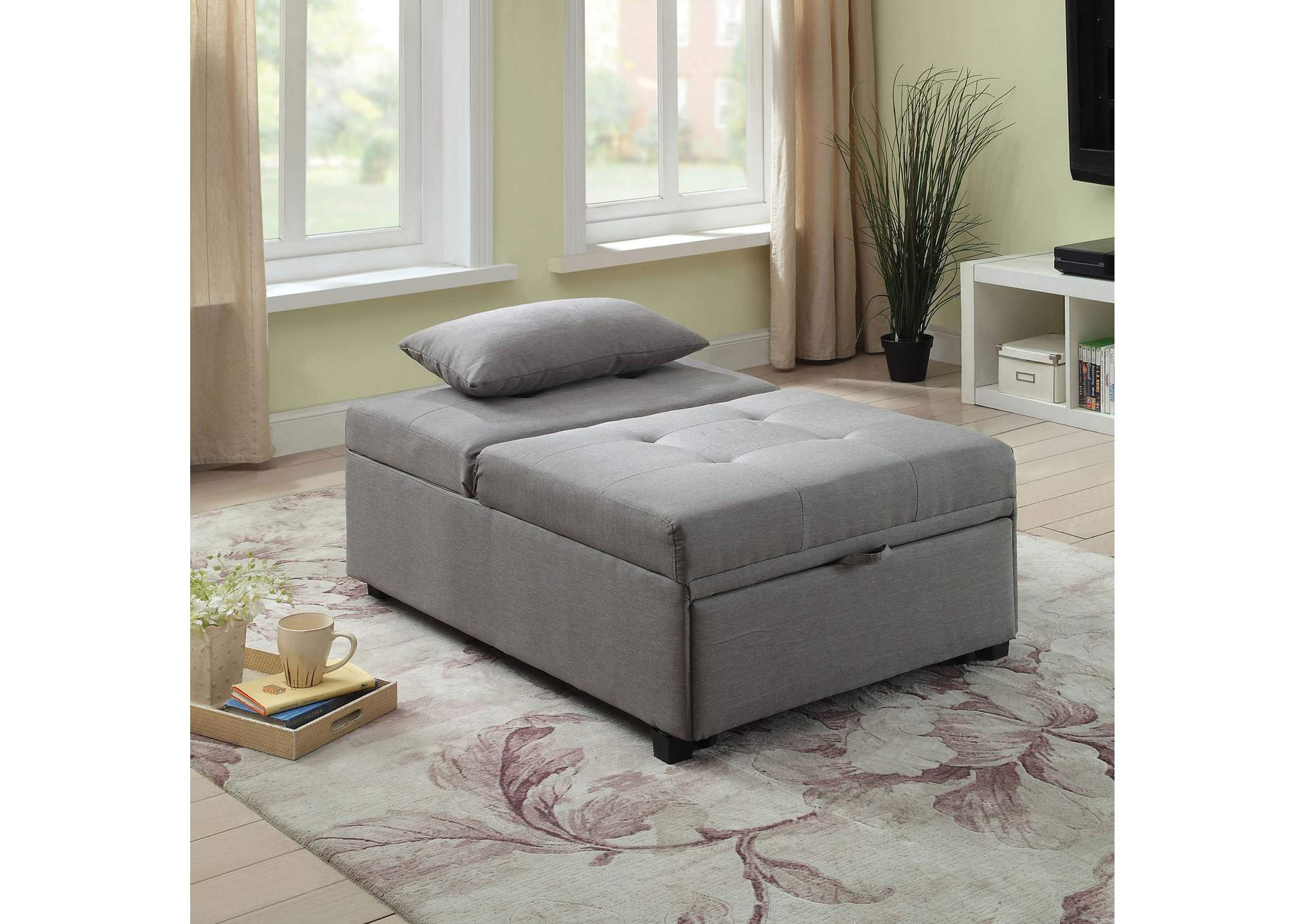 Oona Futon Sofa,Furniture of America