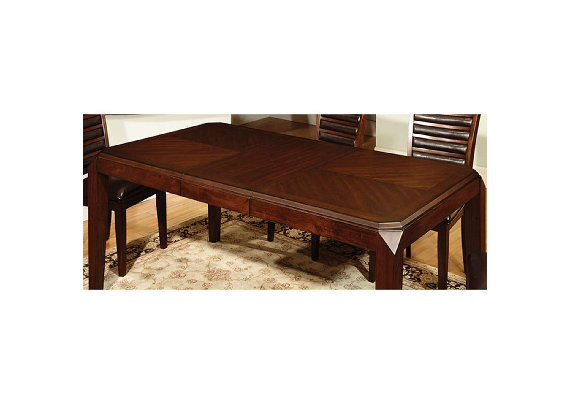Sheffield II Brown Counter Table,Furniture of America