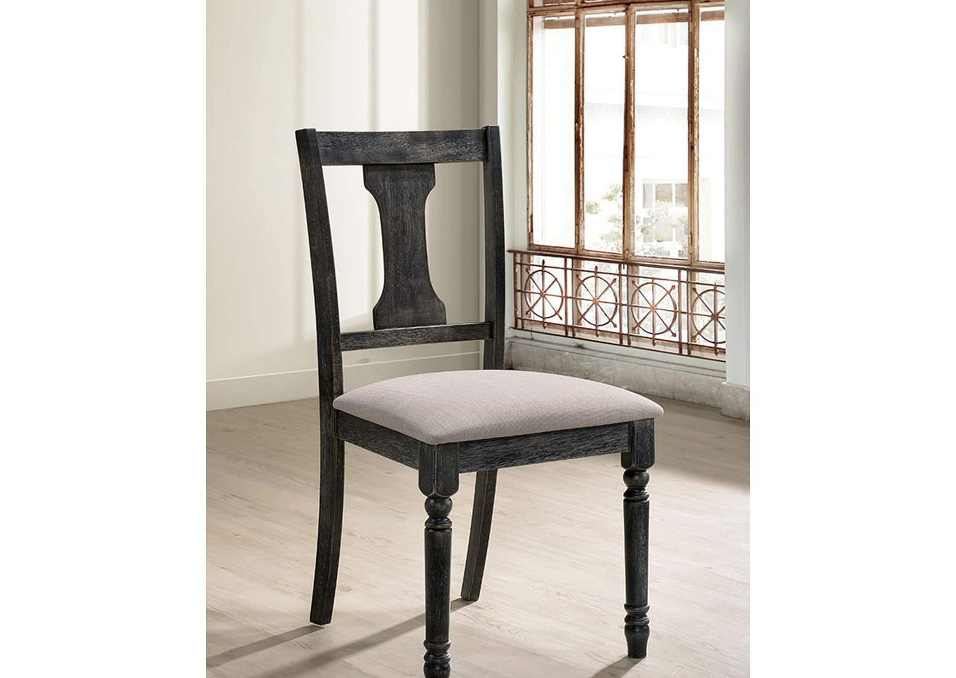 Muriel Side Chair [Set of 2],Furniture of America