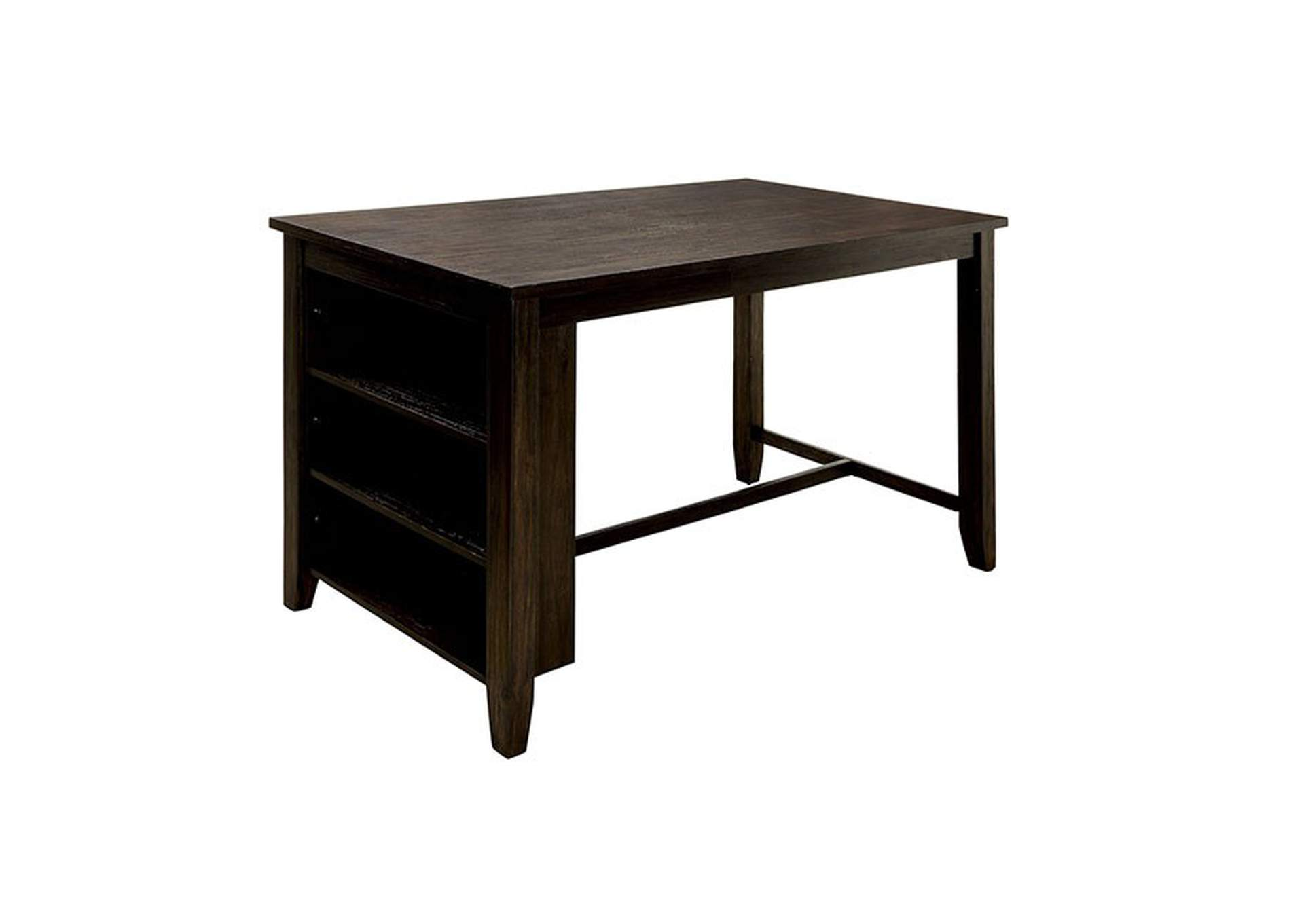 Lana Dark Walnut Counter Height Table,Furniture of America