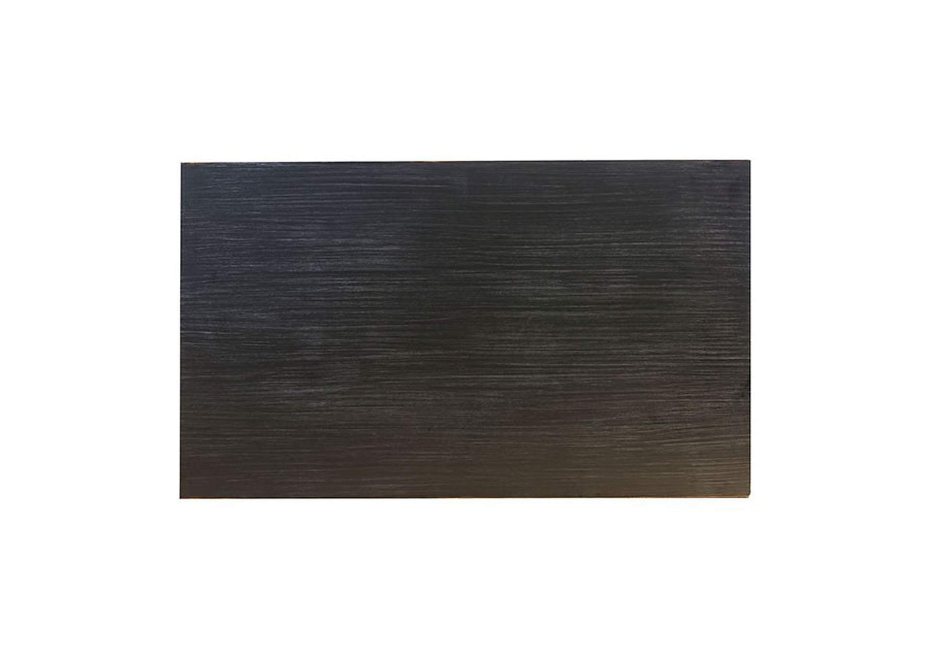 Xanthe Brushed Black Dining Table,Furniture of America