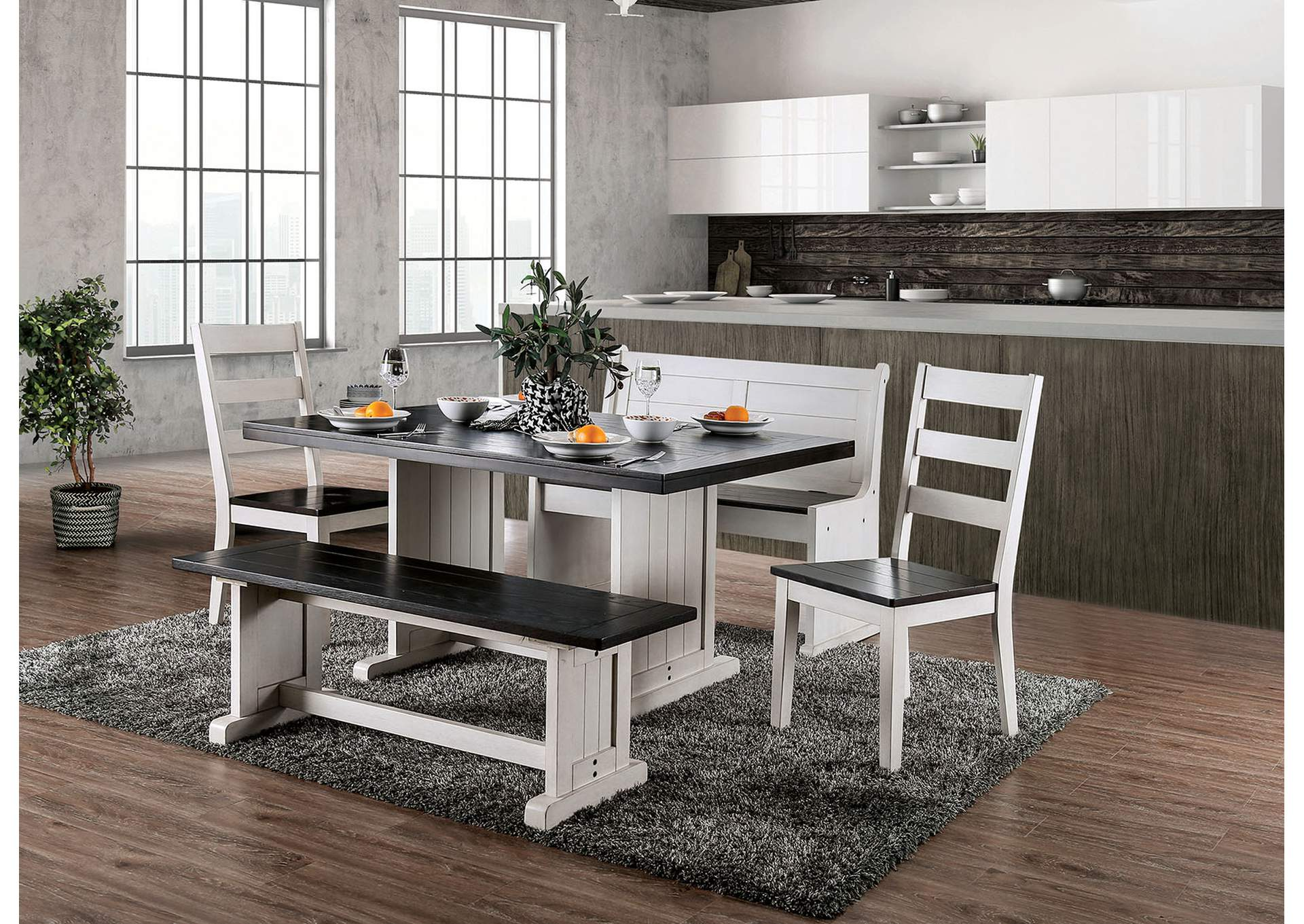 Nekoma Dining Table,Furniture of America