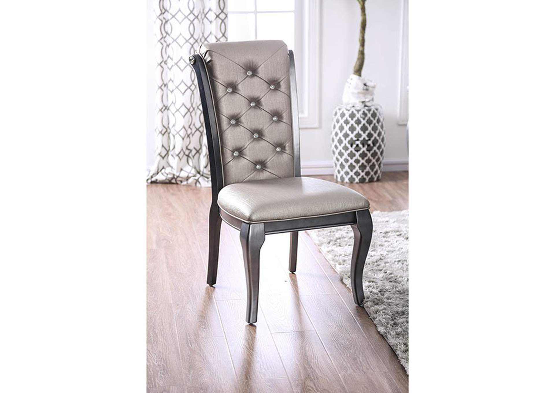 Amina Side Chair (Set of 2),Furniture of America
