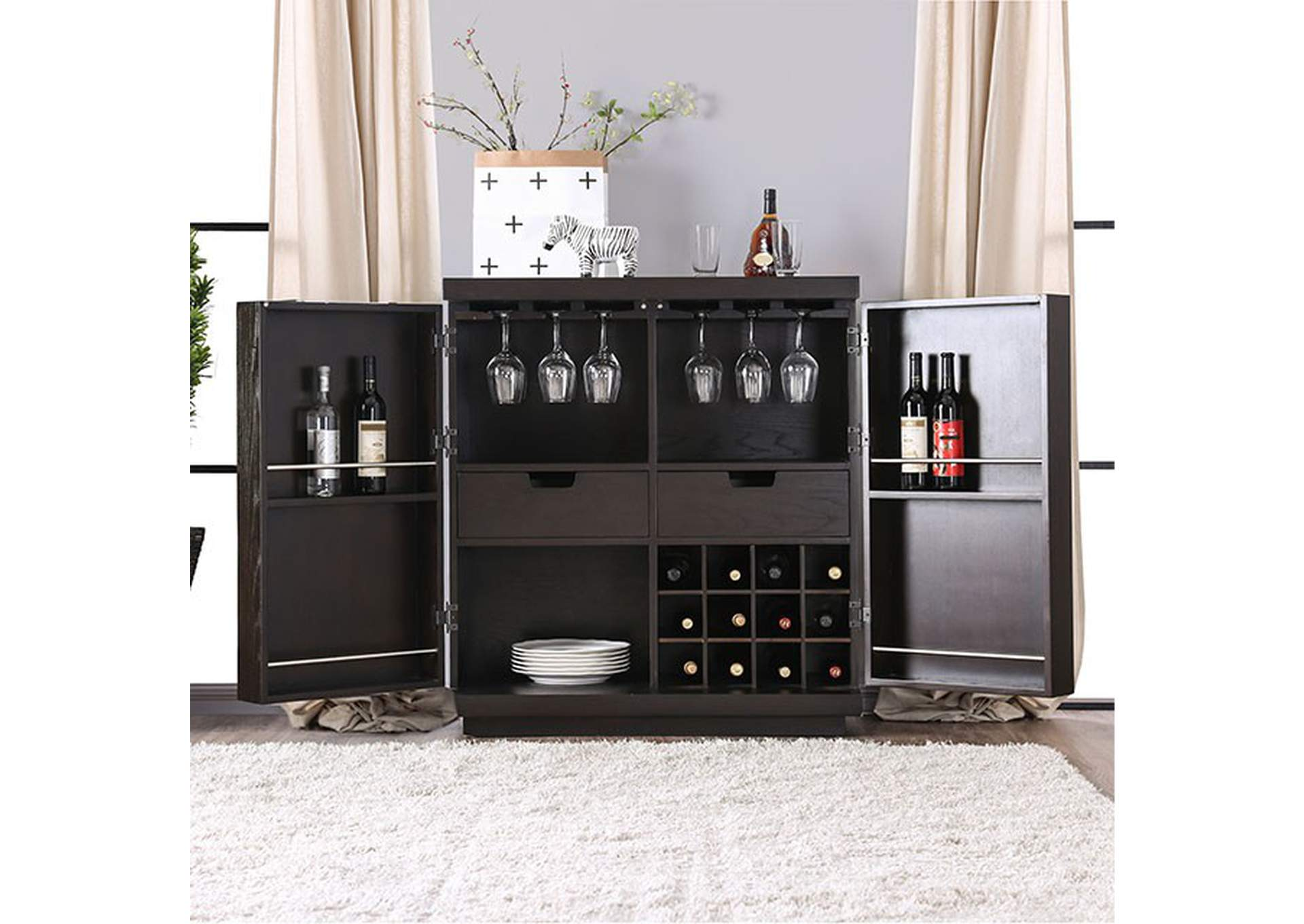 modoc Espresso Server,Furniture of America