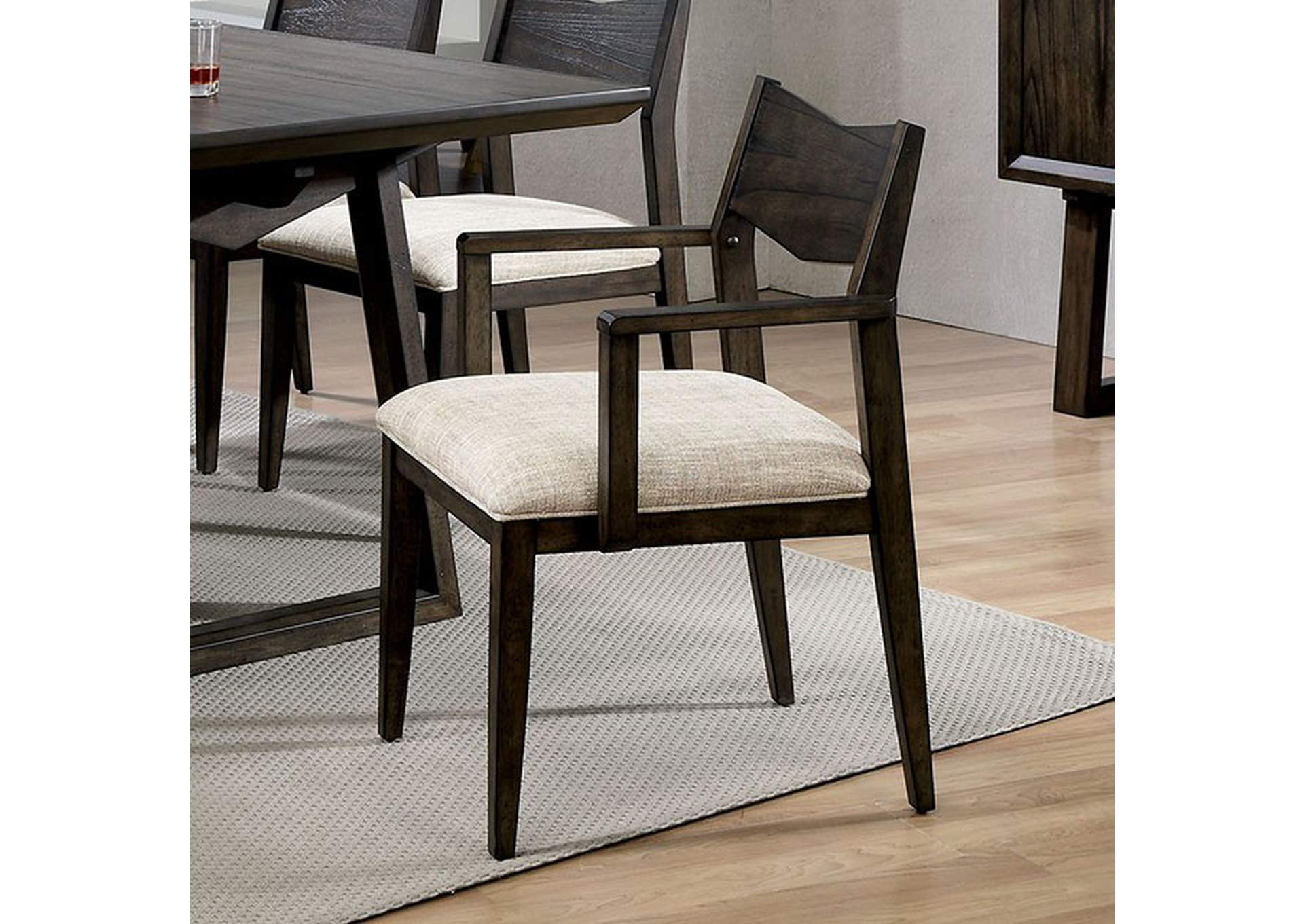 Meridian Arm Chair,Furniture of America