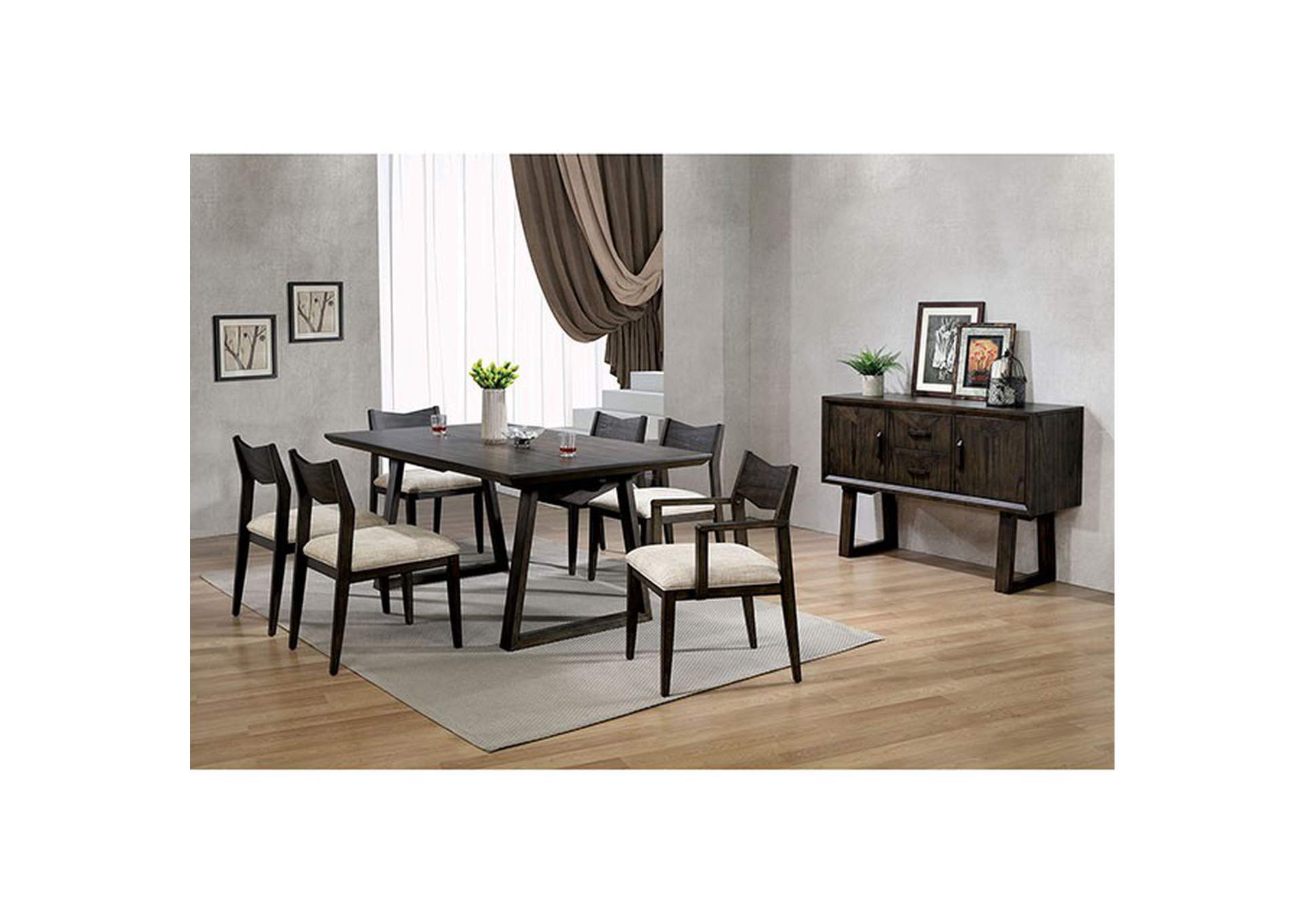Meridian Dining Table,Furniture of America
