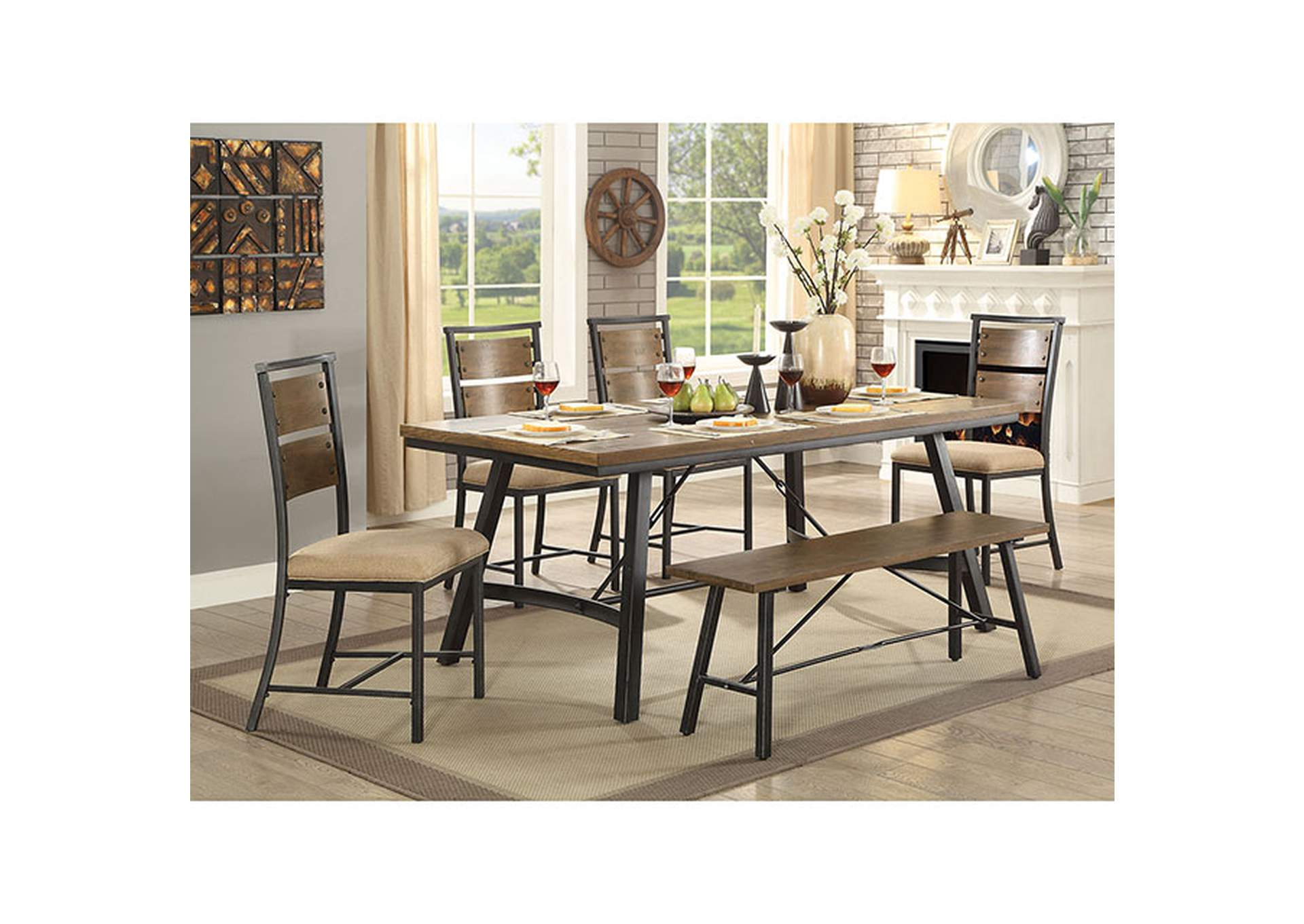 Marybeth Dining Table,Furniture of America