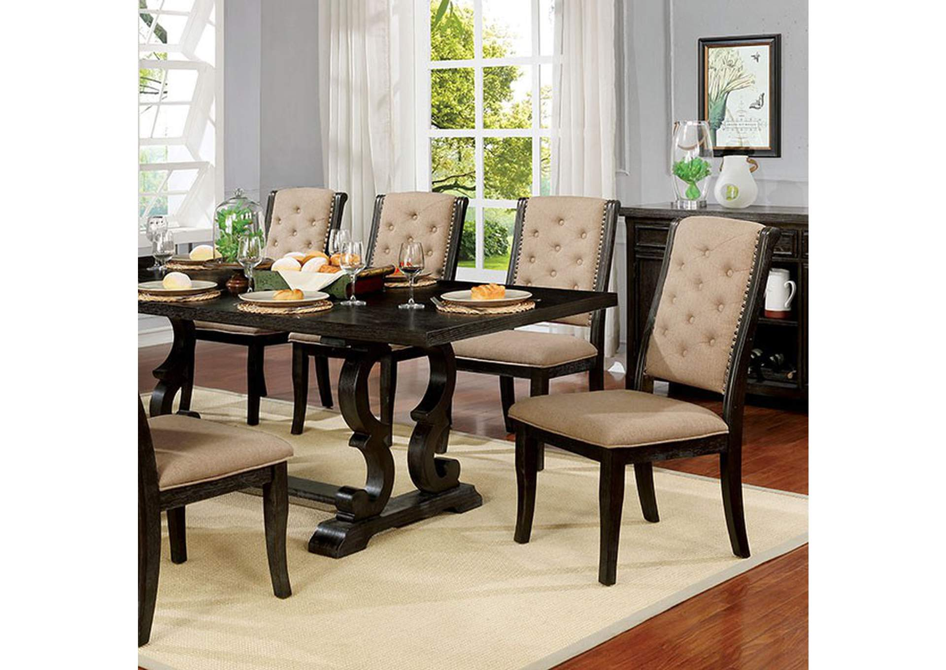 Patience Dining Table,Furniture of America