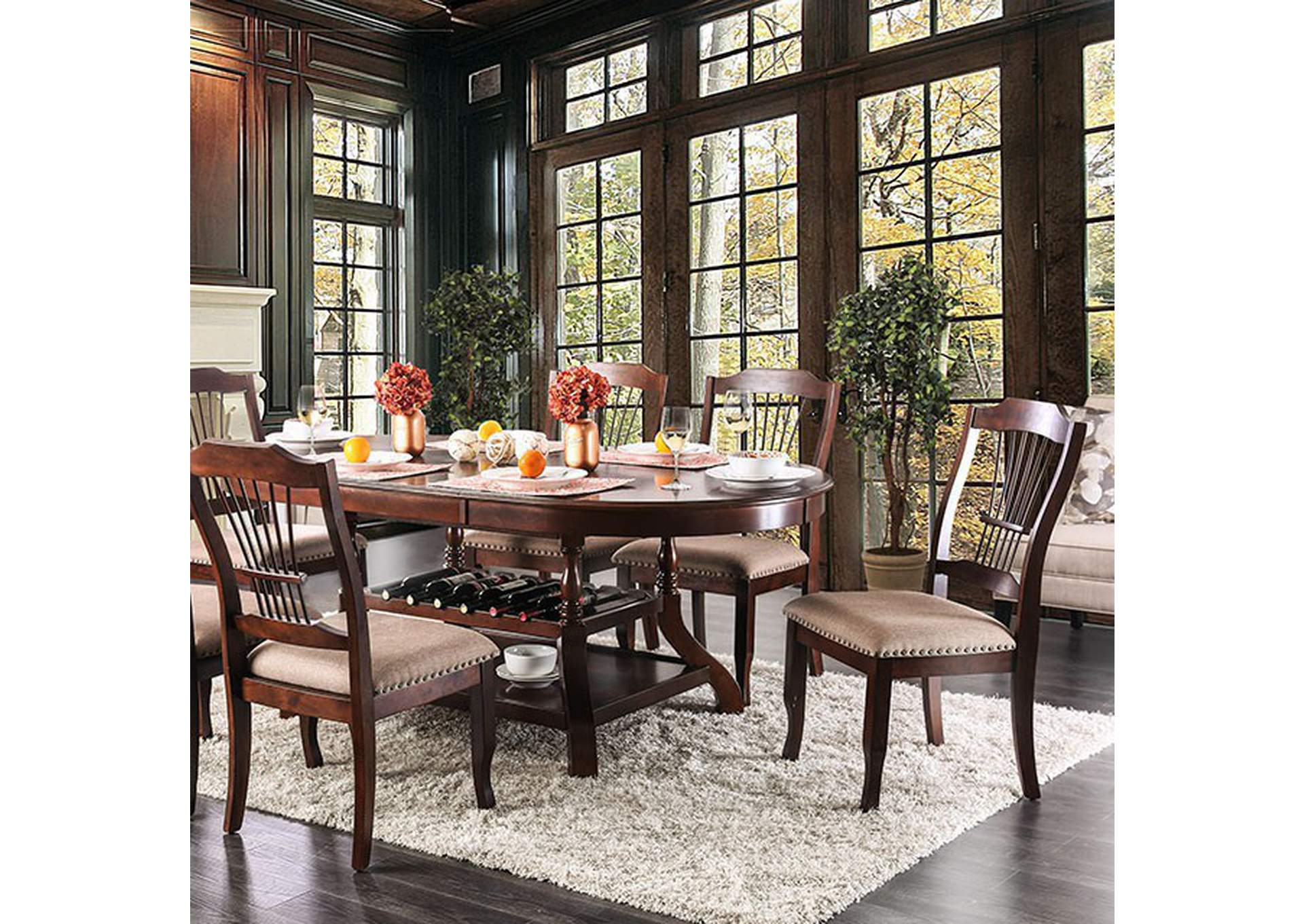 Jordyn Dining Table,Furniture of America