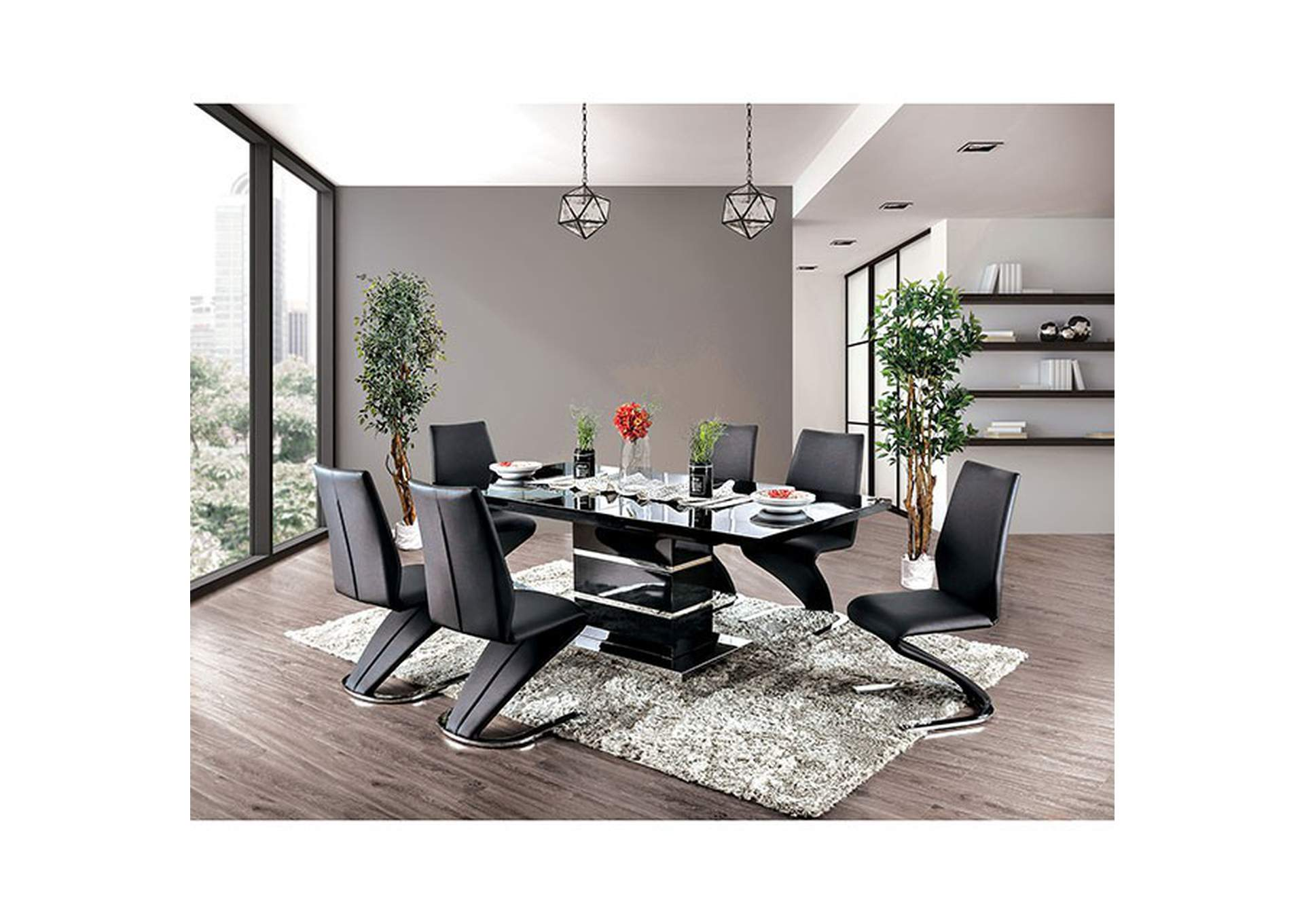 Midvale Dining Table,Furniture of America